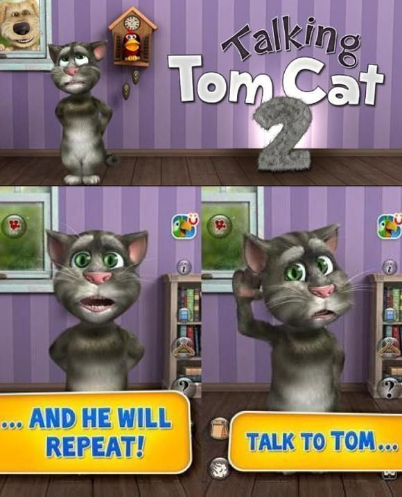 Talking Tom Cat 2 для Android