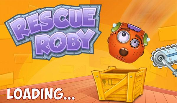 скачать rescue roby game