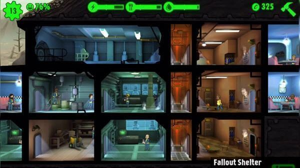 Fallout Shelter - комнаты